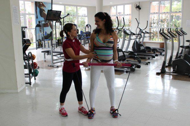 Exercício na Gravidez by Gizele Monteiro