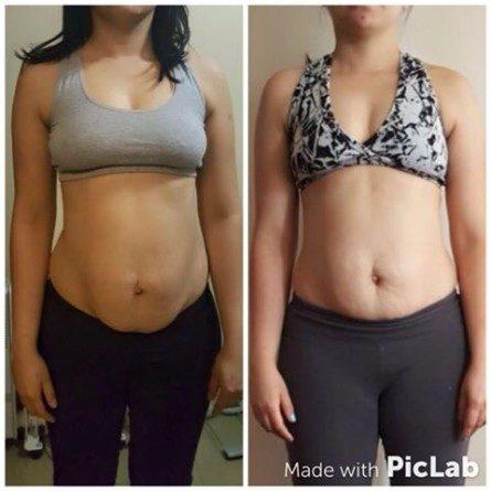 Resultado de 15 dias do programa após a gravidez