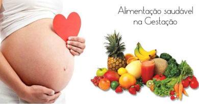 Alimentação saudável prevenindo depressão na gravidez e após