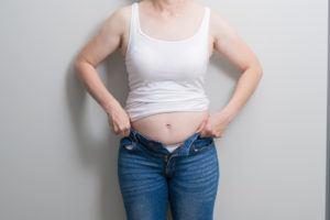 como ter a barriga reta depois da gravidez