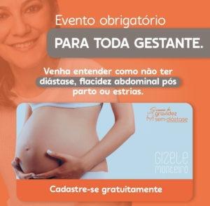 dia da gestante Gizele Monteiro