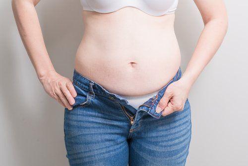 barriga de grávida depois da gravidez