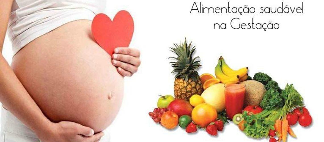 Alimentação saudável na gravidez