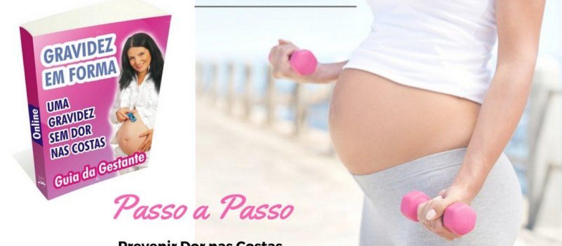 Como evitar dor nas costas na gravidez by Gizele Monteiro