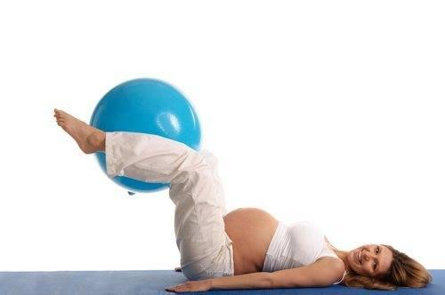 Pode fazer exercício estando grávida