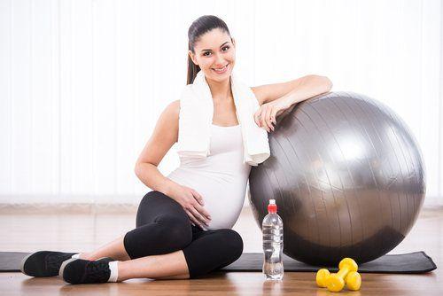 Exercícios na gravidez em casa!